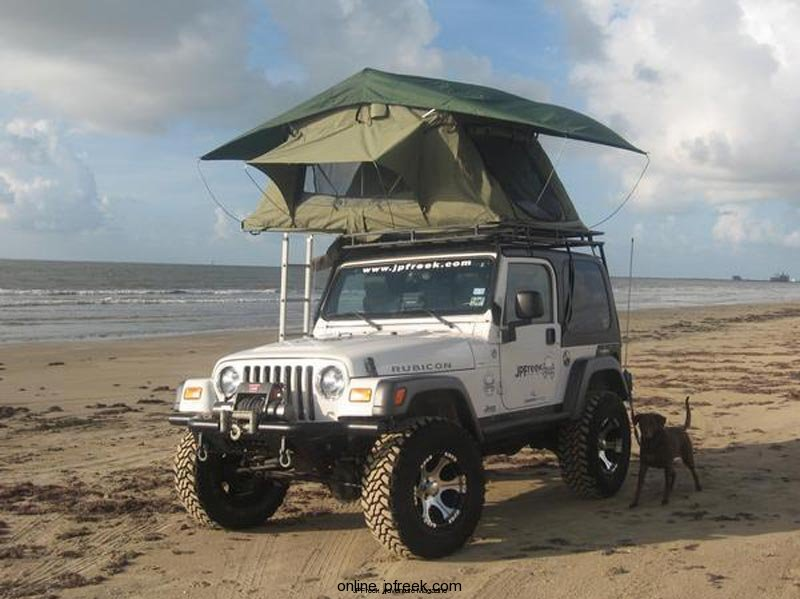 garvin4 & Garvin Wilderness Expedition Rack for Jeep Wranglers - JPFreek ...