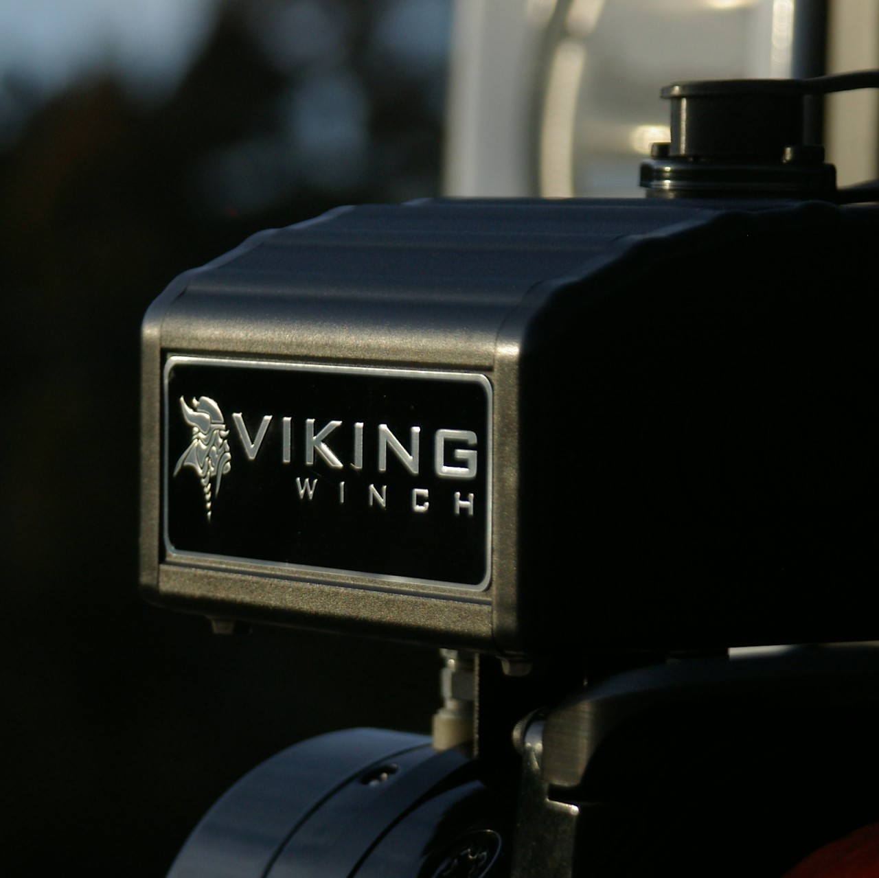 Viking Winch Close up