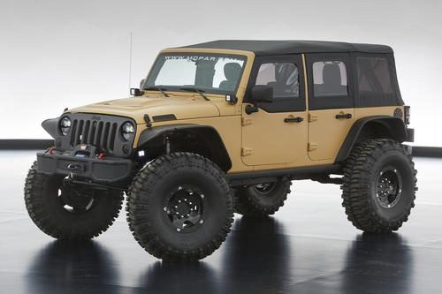 Jeep Wrangler Sand Trooper II from Mopar