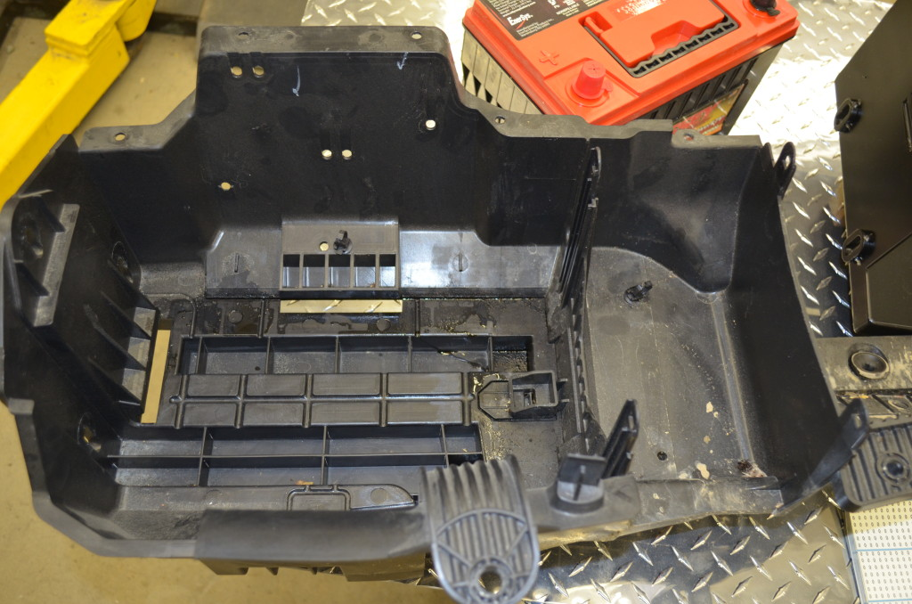 2012 JKU Airbox Removed