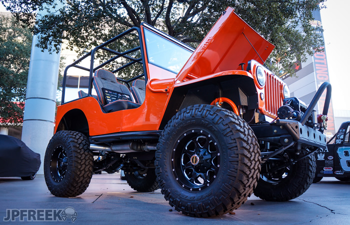Build A Jeep >> Was This Willys The Hottest Jeep At SEMA? - JPFreek Adventure Magazine