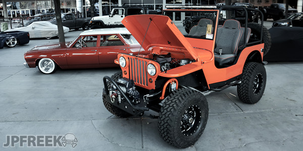 Was This Willys The Hottest Jeep At SEMA? - JPFreek
