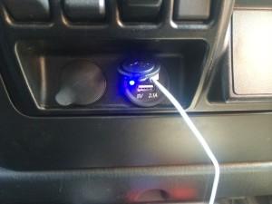 USB Port Installed