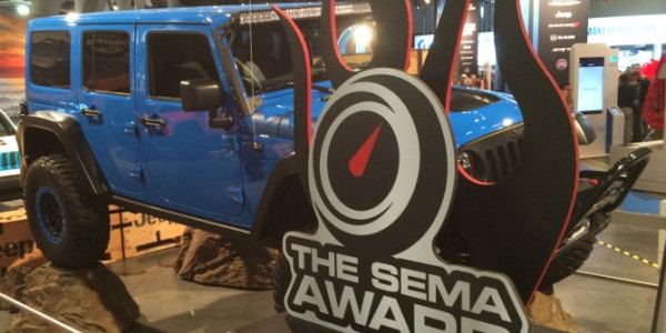 Jeep Wrangler SEMA award - JPFreek