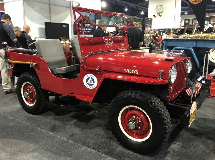 Crown Fire Jeep - JPFreek