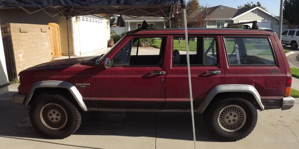 The Cheap Cherokee - before