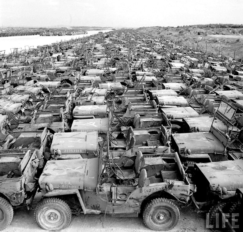 Insane WWII Jeep Graveyard Photos