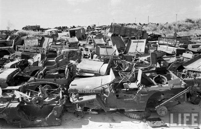 Insane WWII Jeep Graveyard Photos - JPFreek
