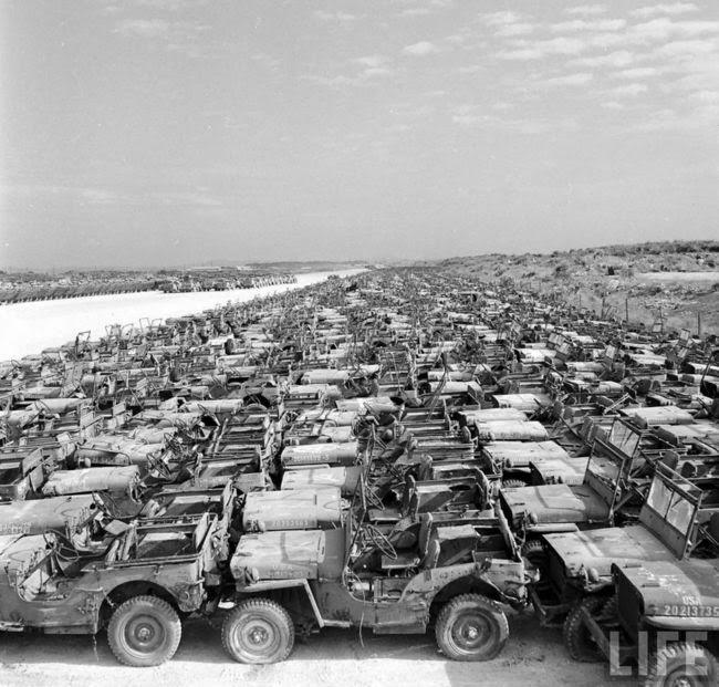 New Jeep Renegade >> Insane WWII Jeep Graveyard Photos - JPFreek