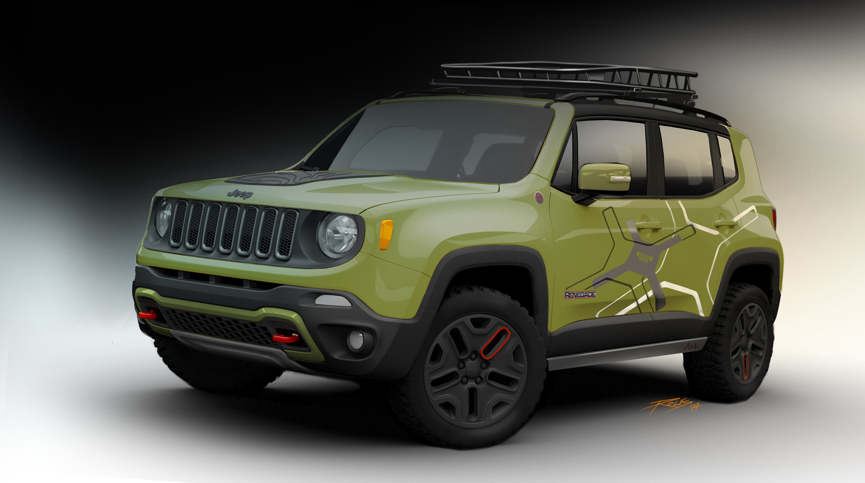 naias 2015 year of the jeep renegade begins jpfreek. Black Bedroom Furniture Sets. Home Design Ideas