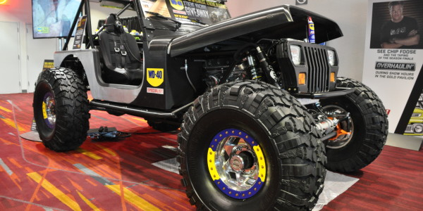 Yes, you could own this Jeep!