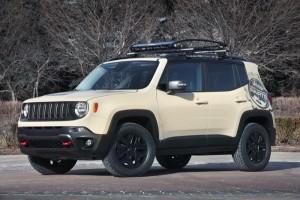Jeep® Renegade Desert Hawk Concept