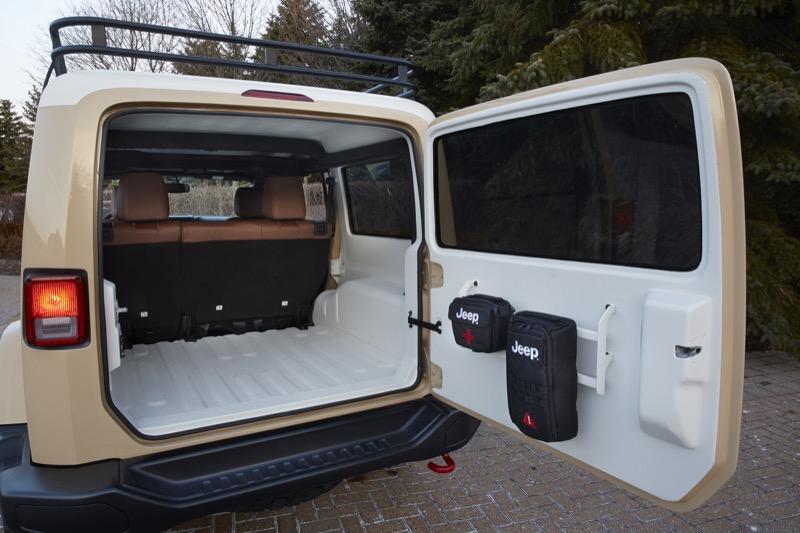 Jeep® Wrangler Africa Concept & EJS Concept Jeeps - First Look - JPFreek