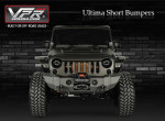 VPR4x4 JK Front Ultima Short Bumpers