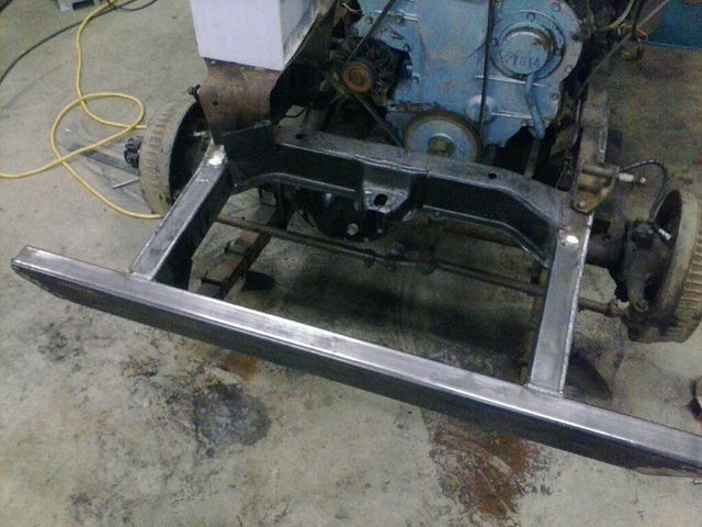 frame repair on the front end