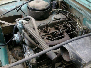 Diesel CJ-6 Perkins engine before