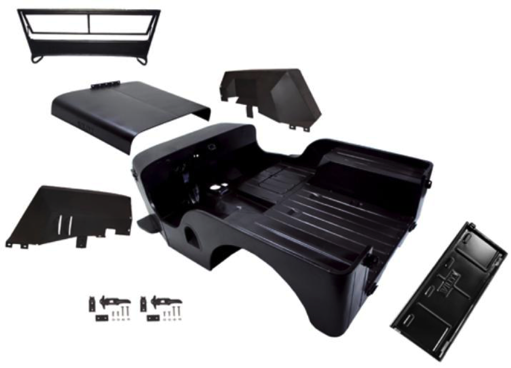 Cj Body Tub Replacement Making The Case Jpfreek Cj5 Frame Repair Reproduction Parts Available From Omix Ada
