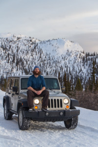 Dan Grec and his currently stock 2007 JKUR