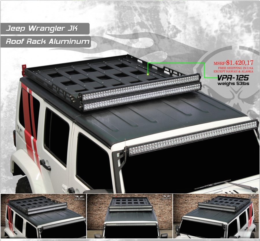 Vpr Jk Roof Rack New Product Alert Jpfreek