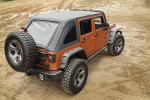 Bowless Soft Top for JKs from Rugged Ridge