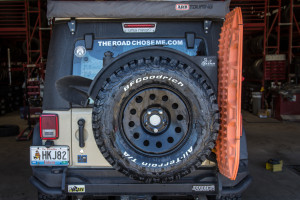 BFGoodrich KO2 All-Terrain spare on Mopar Winter Wheels