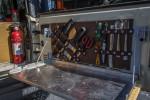 DIY Tailgate Table Utensil/Tool Organizer