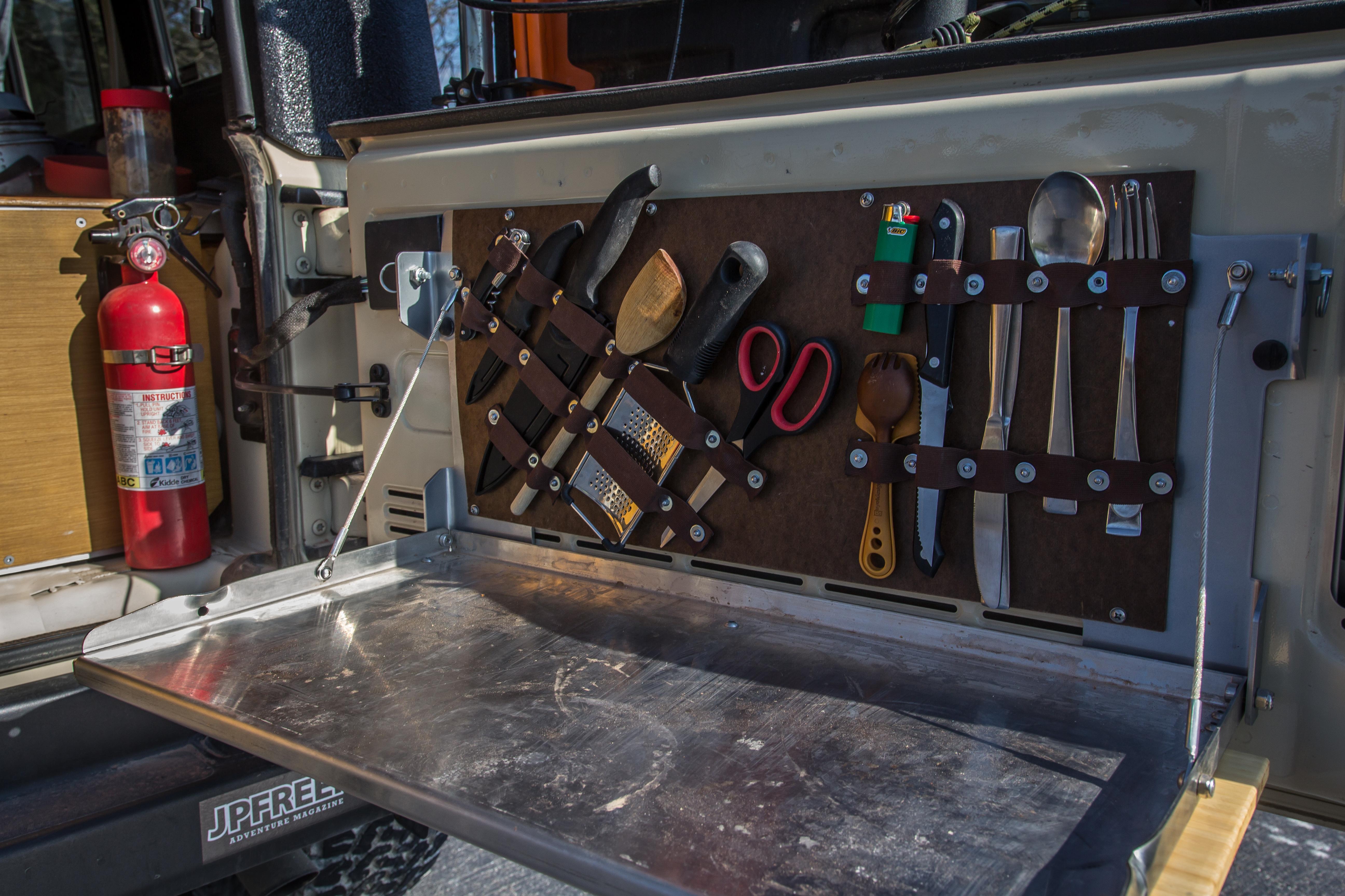 Diy Tailgate Table Utensil Tool Organizer Jpfreek