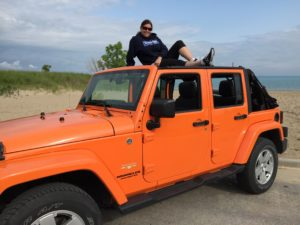 "Canadian Jeep Girl Natasha on her Orange Crush JKU ""Lucy"""