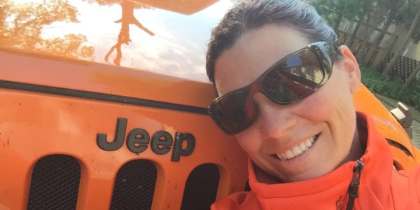 "Canadian Jeep Girl Natasha and ""Lucy:"