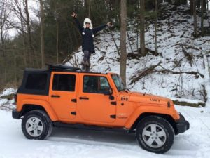You know you're a Canadian Jeep Girl when...
