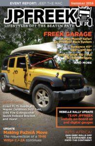 jpfreek magazine summer 2016 cover