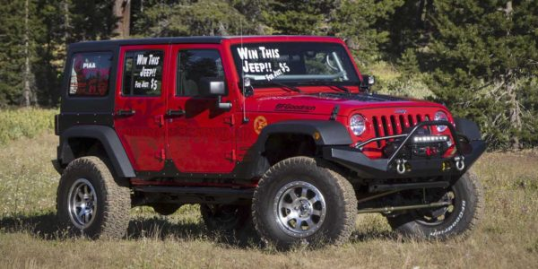 Cal4Wheel 2016 JKU Raffle – $5 a shot – Feb 18