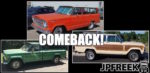 Jeep Wagoneer, Grand Wagoneer, Pickup confirmed