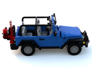 Jeep JK 2D half door