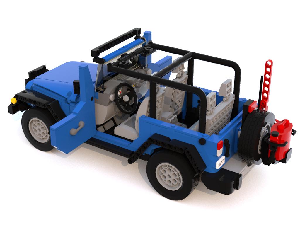 Lego Jeep Jks You Can Make Happen Jpfreek Adventure