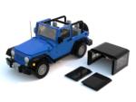 Jeep JK 2D removable three panel hardtop