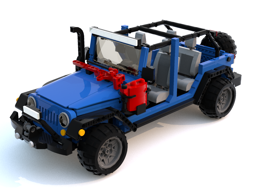 LEGO Jeep JKs You Can Make Happen JPFreek Adventure