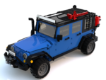 LEGO Jeep JKU model
