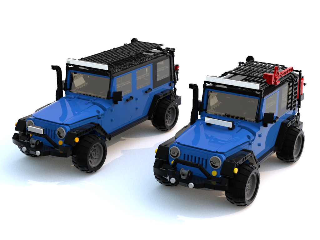 Jeep Sahara 2 Door >> LEGO Jeep JKs you can make happen! - JPFreek Adventure Magazine