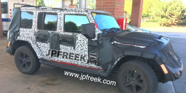 JL 2018 Wrangler spy shot 5 - JPFreek Adventure Magazine