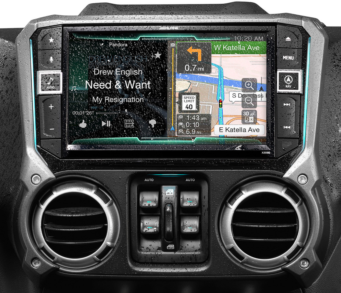 New Weather Resistant Jk Head Units From Alpine