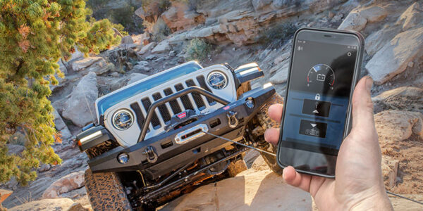 Warn Industries' New HUB Receiver & App Lets Users Operate Their Winch With a Smart Phone